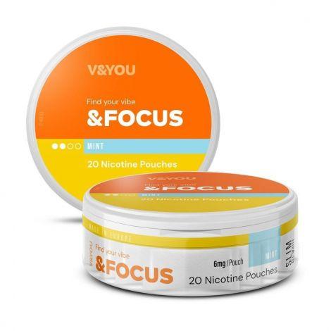 V&YOU &Focus Nicotine Pouches